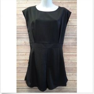 Bishop + Young Anthropologie Black Small Romper